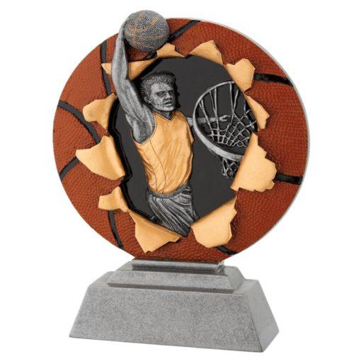 Agalmatidio resin basket fg1131